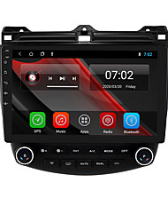 cheap -For Honda Accord Seven Generations 2003-2007 Android 10.0 Autoradio Car Navigation Stereo Multimedia Car Player GPS Radio 10 inch IPS Touch Screen 1 2 3G Ram 16 32G ROM Support iOS Carplay WIFI Bluetooth 4G