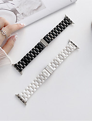 cheap -Smart Watch Band for Apple iWatch 1 pcs Business Band Stainless Steel Zinc alloy Replacement  Wrist Strap for Apple Watch Series 7 / SE / 6/5/4/3/2/1