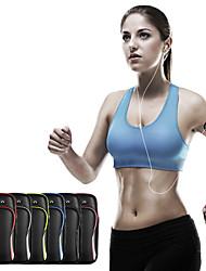 cheap -Phone Armband Running Armband 0-20 L for Fitness Gym Workout Marathon Running Sports Bag Adjustable Waterproof Wearable Nylon Women's Men's Running Bag Adults