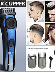 cheap -Hair Clipper Razor LCD Screen Powerful Hairs Trimmer Cutting Machine Barber Haircut Professional Hair Clipper Rechargeable