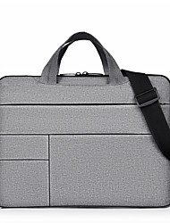 cheap -201 14 Inch Laptop / 15.6 Inch Laptop Briefcase Handbags Nylon Fiber / Polyester Solid Color Unisex Waterpoof Shock Proof