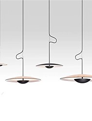 cheap -LED Pendant Light 35 cm Single Design Pendant Light Metal Painted Finishes LED Nordic Style 220-240V