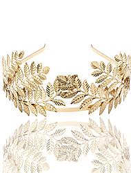 cheap -3 Pcs/set Ka Shitong New Leaf Crown Bridal Headband European And American Fashion Baroque Bridesmaid Headband Hair Accessories Gifts