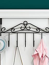 cheap -Spot Door Kitchen Nail-Free Door Hanger Bedroom Clothes Kitchen Creative Kitchen Hook Hanger Kitchen Metal