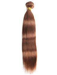 cheap -Ishow 1 Bundle Human Hair Weaves Real Virgin Peruvian Hair Shade 100% Human Hair Pure Color 30# Hair Bundle Single Set 10-24 Inch