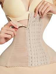 cheap -Corset for Women Shapewear Ladies Belly Waist Trainer Binder Shapers Modeling Belt corset Slimming Underwear Body Shaper Shapewear Slimming Belt Belly Shaper