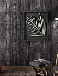 cheap -Wallpaper Wall Covering Sticker Film Modern Water ripple Stripe wood non Woven Home Decor 53*1000cm