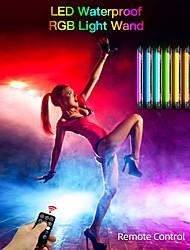 cheap -LUXCEO P7 RGB Pro Waterproof RGB Light Wand P7RGB Handheld Lighting Stick RGB LED Video Light tube Colorful Remote Control