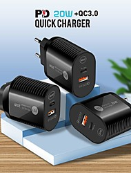 cheap -20 W Output Power USB PD Charger Fast Charger Portable QC 3.0 Fast Charge CE Certified For Cellphone 1 PC