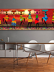 cheap -Wall Art Canvas Prints Painting Artwork Picture  People Home Decoration Decor Rolled Canvas No Frame Unframed Unstretched