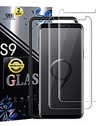 cheap -galaxy s9 screen protector [3d tempered glass] with alignment tool easy installation bubble free 9h hardness full coverage screen protector for samsung galaxy s9[2 pack]