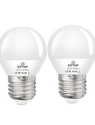 cheap -2pcs 6 W LED Globe Bulbs 550 lm E27 G45 20 LED Beads SMD 2835 Decorative Warm White Cold White 220-240 V