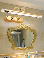 cheap -Waterproof LED Modern Bathroom Lighting Bedroom Bathroom Iron Wall Light IP65 110-120V 220-240V 6/9/12 W