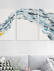 cheap -Wall Art Canvas Prints Painting Artwork Picture Animal Fish Home Decoration Dcor Rolled Canvas No Frame Unframed Unstretched