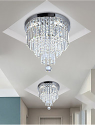 cheap -Unique Flush Mount Chandeliers Lights Stainless Steel LED Nordic Style 220-240V DN25  CM