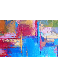 cheap -Oil Painting Handmade Hand Painted Wall Art Colorful Abstract Bedroom Decoration Paintings Home Decoration Decor Stretched Frame Ready to Hang
