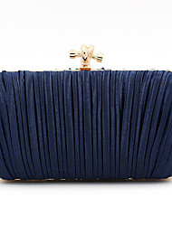 cheap -Women's Bags Polyester Evening Bag Chain Party / Evening Evening Bag Chain Bag Almond Black Dark Blue