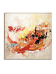 cheap -Oil Painting Handmade Hand Painted Wall Art Square Abstract Room Pictures Home Decoration Decor Stretched Frame Ready to Hang