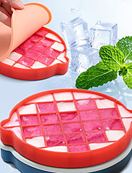 cheap -Silica Gel Ice Box Refrigerator Mold Homemade Auxiliary Food Hockey Artifact Household Small Freezer