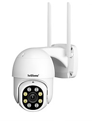 cheap -SriHome SH028 IP Security Cameras 2MP dome WIFI Wireless Waterproof Motion Detection Wi-Fi Protected Setup Indoor Outdoor Support 128 GB