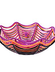 cheap -Halloween Decoration Spider Fruit Plate Candy Biscuit Fruit Storage Basket