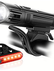 cheap -LED Bike Light LED Light Front Bike Light Rear Bike Tail Light LED Bicycle Cycling Waterproof Super Bright Easy Carrying Durable Li-polymer 500 lm Built-in Li-Battery Powered Everyday Use Cycling