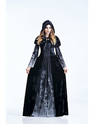 cheap -Dress / Cosplay Costume Adults' Party / Evening / Costume Party / Vacation Dress Women's Purple / Light Purple / Black Terylene Cosplay Accessories Halloween / Carnival Costumes / Female / Hat / Hat