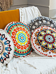 cheap -PillowCase Moroccan Style Fashion Home Office Round PillowCase Living Room Bedroom Sofa Cushion Cover Modern Sample Room Cushion Cover