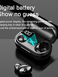 cheap -T8 True Wireless Headphones TWS Earbuds Bluetooth5.0 with Charging Box in Ear IPX6 Waterproof for Apple Samsung Huawei Xiaomi MI  Yoga Fitness Running Mobile Phone