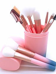 cheap -12pcs Makeup Brushes Kit Luxury Set For Foundation Powder Blush Eyeshadow Concealer Make Up Brush Cosmetics Beauty Tools