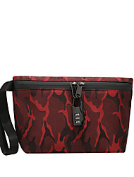 cheap -Unisex Bags Nylon Tobacco Pouch Zipper Artwork Party / Evening Holiday Messenger Bag Purple Green Red