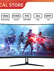 cheap -32-Inch Monitor 165Hz Desktop PC Display Games Tablet Screen Computer LED 1920x1080 HD 178 Degree Viewing Angle Screen Aspect Ratio 169