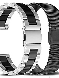 cheap -compatible samsung galaxy watch 4 band 44/40mm /galaxy watch 4 classic bands 46mm/42mm set, 2pack metal stainless steel straps bracelet replacement for samsung galaxy watch 4 and watch4 classic