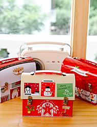 cheap -Christmas Decoration Christmas Tinplate Piggy Bank Iron Piggy Bank Children's Gift Cartoon Candy Box