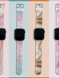 cheap -Smart Watch Band for Apple iWatch 1 pcs Sport Band TPE Replacement  Wrist Strap for Apple Watch Series 7 / SE / 6/5/4/3/2/1