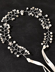 cheap -Romantic Sweet Alloy Headbands / Headdress / Headpiece with Crystals / Crystals / Rhinestones 1 PC Wedding / Special Occasion Headpiece