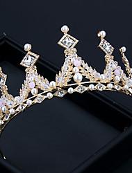 cheap -Rhinestone Alloy Crown Children's Day Performance Hair Accessories Bridal Wedding Accessories