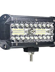 cheap -1pcs/set Car Offroad Spot Flood Car  LED Light Work Light LED for Truck Car SUV 4WD 4x4 Boat  ATV LED Headlights Spot work bar 102w 40SMD 12-24v