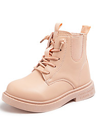 cheap -Boys' Girls' Boots Snow Boots Combat Boots Synthetics Casual / Daily Combat Boots Big Kids(7years +) Little Kids(4-7ys) Toddler(2-4ys) Sports & Outdoor Daily Pink Black Fall Winter / Mid-Calf Boots