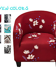 cheap -Club Chair Slipcover,Stretch Spandex Removable Vintage Pattern Armchair Covers, Sofa Cover Furniture Protector for Living Room Arm Chair Cover Geometric Couch Covers