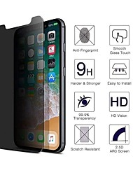 cheap -Phone Screen Protector For Apple iPhone 13 12 Pro Max 11 SE 2020 X XR XS Max 8 7 Tempered Glass 2 pcs Explosion Proof Privacy Anti-Spy Front Screen Protector Phone Accessory