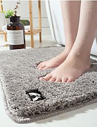 cheap -High Pile Bathroom Door Absorbent Pad Floor Mat Bedroom Non-slip Mat Kitchen Mat Floor Mat Doormat Carpet 50*80cm