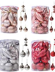 cheap -Christmas Ball Set Decoration Gift Box Christmas Gift Christmas Tree Decoration Pendant Special-shaped Ball Mixed Set