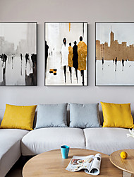 cheap -Wall Art Canvas Prints Painting Artwork Picture People Architecture Home Decoration Dcor Rolled Canvas No Frame Unframed Unstretched
