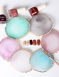 cheap -nail art japanese palette agate phnom penh palette crystal edge shooting props toning works display board tool