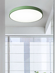 cheap -30 cm Ceiling Lights Dimmable Flush Mount Lights Metal Stylish Painted Finishes LED 110-240 V
