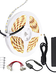 cheap -LED Strip Light 10M 32.8 ft 24V High-end LED Strip Lights Kit High Density 1200 LEDs 2835 SMD LED 72W CRI 80 DC24V LED Tape Lights for Under Cabinet Kitchen Commercial  Lighting Project