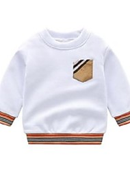 cheap -boys t shirts spring autumn long sleeve tops kids brand plaid sweatshirt children boy clothing clothes 210901