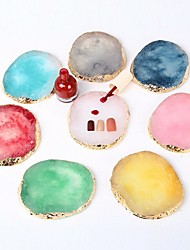 cheap -nail art palette agate stone marble pattern japanese creative thickening phnom penh paint palette tool