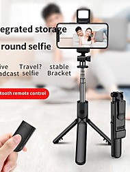cheap -Selfie Stick Bluetooth Extendable Max Length 66.4 cm For Universal Android / iOS